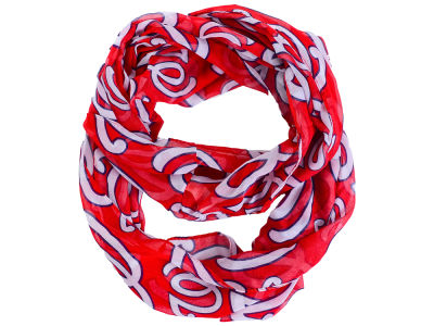 Washington Nationals All Over Logo Infinity Wrap Scarf
