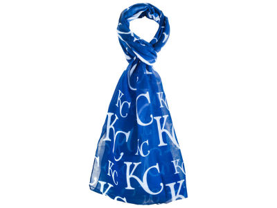 Kansas City Royals All Over Logo Infinity Wrap Scarf