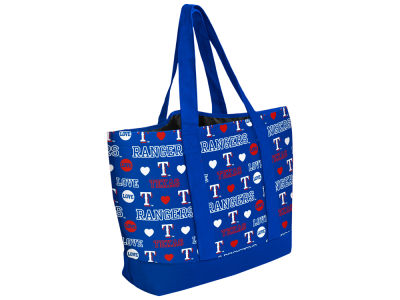 Texas Rangers Love Print Weekend Tote