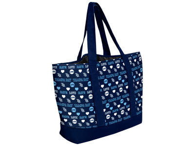 Tampa Bay Rays Love Print Weekend Tote