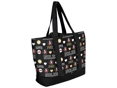Florida State Seminoles Love Print Weekend Tote