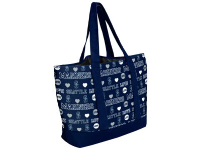 Seattle Mariners Love Print Weekend Tote