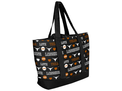 Texas Longhorns Love Print Weekend Tote
