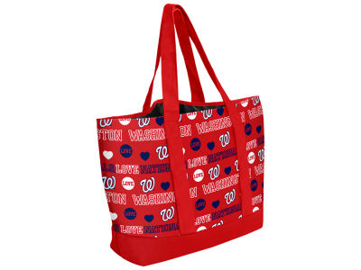 Washington Nationals Love Print Weekend Tote