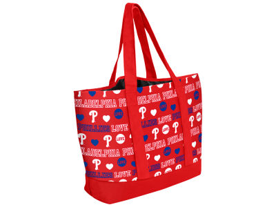 Philadelphia Phillies Love Print Weekend Tote