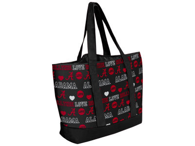 Alabama Crimson Tide Love Print Weekend Tote