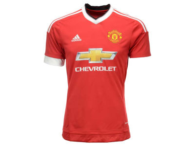 Manchester United adidas Club Soccer Men's Team Home Jersey