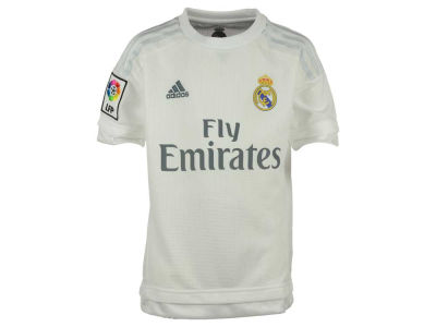 Real Madrid adidas Club Soccer Youth Home Jersey