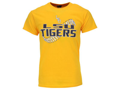 LSU Tigers Blue 84 NCAA Men's Devils Stitch Baseball T-Shirt