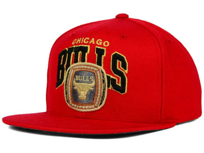 Chicago Bulls Mitchell and Ness NBA Bulls Champ Collection Cap