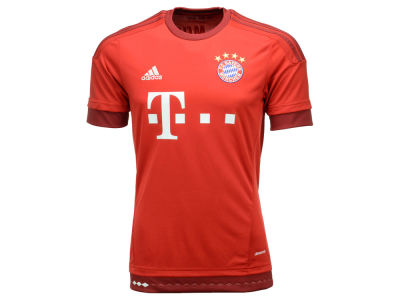Bayern Munich adidas Club Soccer Men's Team Home Jersey