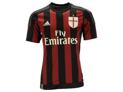 AC Milan adidas Club Soccer Men's Team Home Jersey