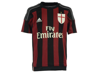 AC Milan adidas Club Soccer Youth Home Jersey