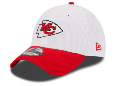 Kansas City Chiefs New Era NFL 2015 Training Camp Official 39THIRTY Cap