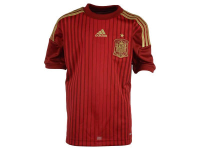 Spain adidas National Team Youth Home Jersey