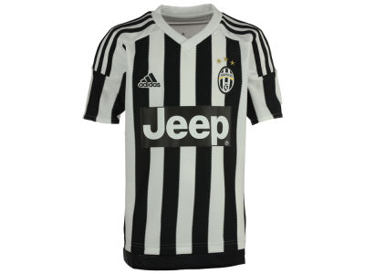 Juventus adidas Club Soccer Youth Home Jersey