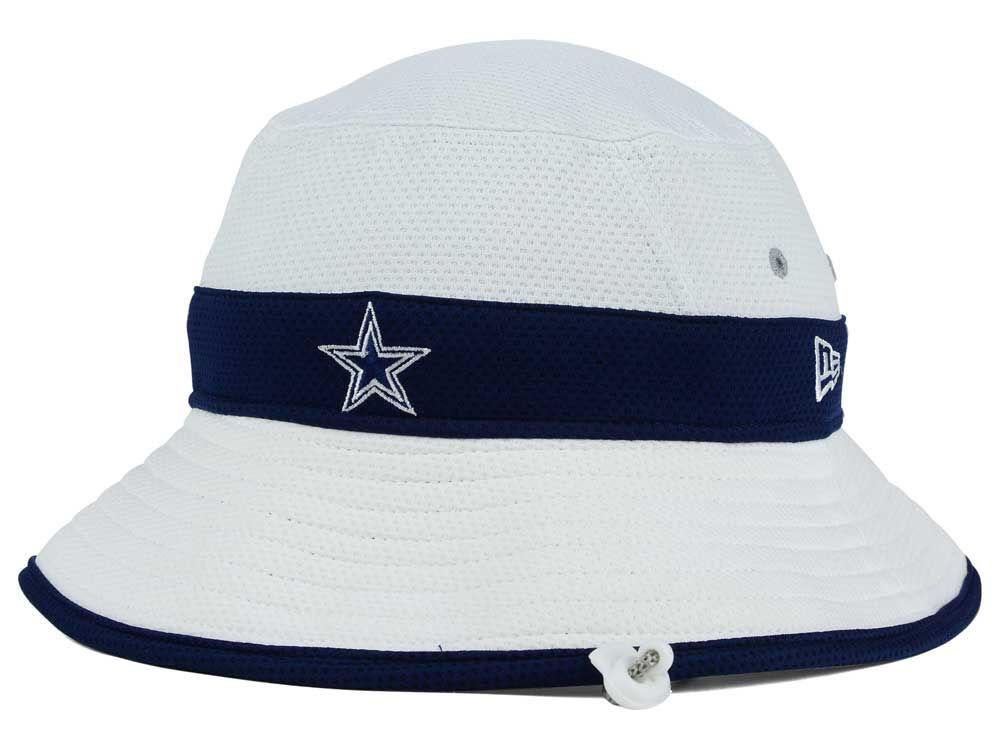 Dallas Cowboys New Era NFL 2015 Training Camp Official Bucket  1918fc841