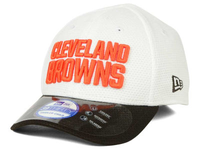 Cleveland Browns New Era NFL 2015 Kids Training Camp Official 39THIRTY Cap