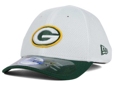 Green Bay Packers New Era NFL 2015 Kids Training Camp Official 39THIRTY Cap