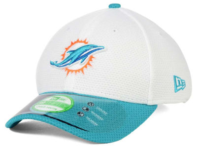 Miami Dolphins New Era NFL 2015 Kids Training Camp Official 39THIRTY Cap