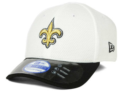 New Orleans Saints New Era NFL 2015 Kids Training Camp Official 39THIRTY Cap