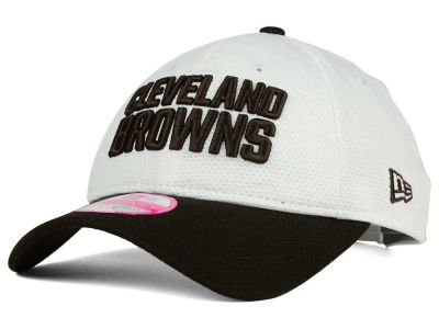 Cleveland Browns New Era NFL 2015 Training Camp Women's Official 9TWENTY Cap