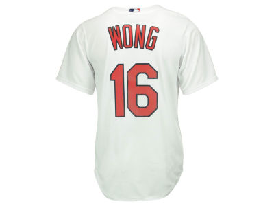 St. Louis Cardinals Kolten Wong Majestic MLB Men's Player Replica Cool Base Jersey