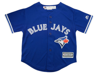 Toronto Blue Jays Majestic MLB Infant Cool Base Blank Replica Jersey