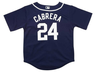 Detroit Tigers Miguel Cabrera MLB Youth Player Replica Cool Base Jersey