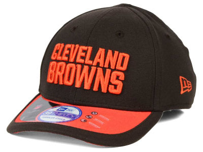 Cleveland Browns New Era NFL 2015 Kids On Field 39THIRTY Cap