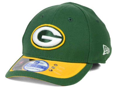 Green Bay Packers New Era NFL 2015 Kids On Field 39THIRTY Cap