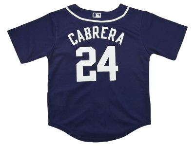 Detroit Tigers Miguel Cabrera MLB Toddler Replica Player Cool Base Jersey