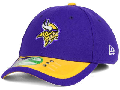 Minnesota Vikings New Era NFL 2015 Kids On Field 39THIRTY Cap