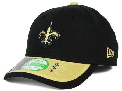 New Orleans Saints New Era NFL 2015 Kids On Field 39THIRTY Cap