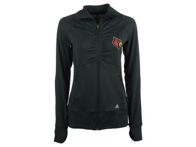 Louisville Cardinals adidas NCAA Women's Climalite Ultimate Half Zip Pullover Shirt