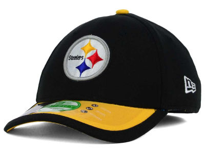 Pittsburgh Steelers New Era NFL 2015 Kids On Field 39THIRTY Cap