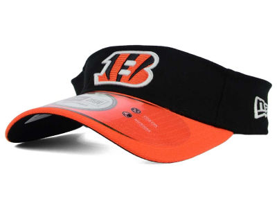 Cincinnati Bengals New Era NFL 2015 On Field Visor