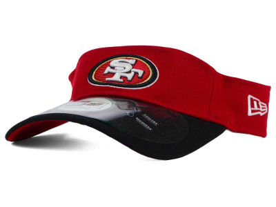 San Francisco 49ers New Era NFL 2015 On Field Visor