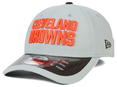 Cleveland Browns New Era NFL 2015 On Field Reverse 39THIRTY Cap