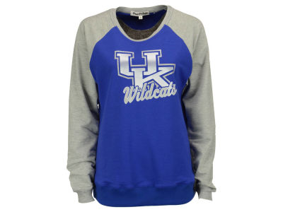 Kentucky Wildcats NCAA Women's 2Tone French Terry Raglan Shirt