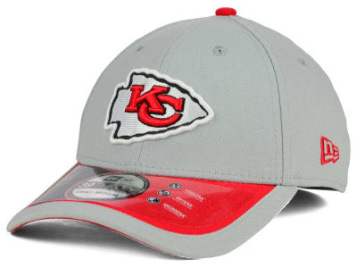Kansas City Chiefs New Era NFL 2015 On Field Reverse 39THIRTY Cap