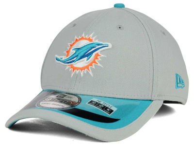 Miami Dolphins New Era NFL 2015 On Field Reverse 39THIRTY Cap