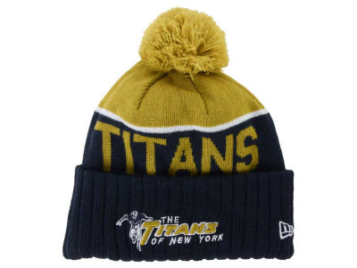 New York Titans New Era NFL 2015 Classic Sport Knit