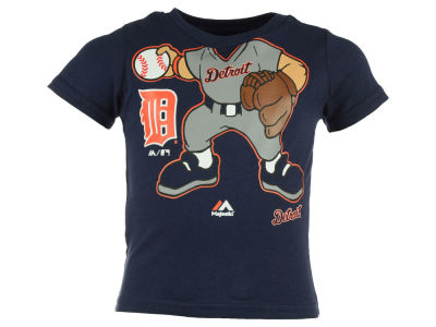 Detroit Tigers MLB Infant Pint-Sized Pitcher T-Shirt