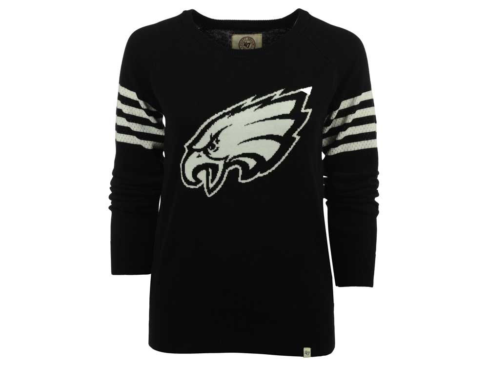 Philadelphia Eagles 47 Nfl Womens Drop Needle Sweater Lidscom