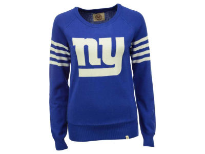 New York Giants '47 NFL Women's Drop Needle Sweater