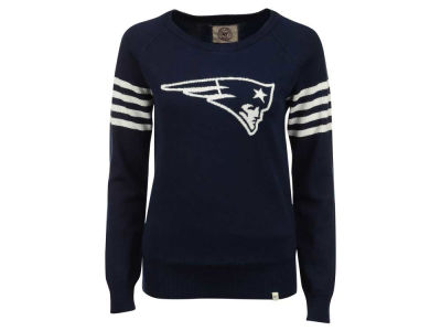 New England Patriots '47 NFL Women's Drop Needle Sweater