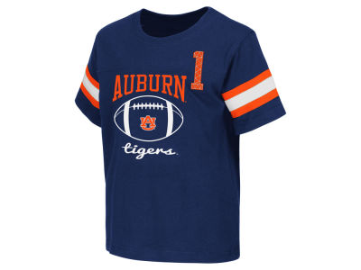 Auburn Tigers NCAA Toddler Pigskin Football T-Shirt