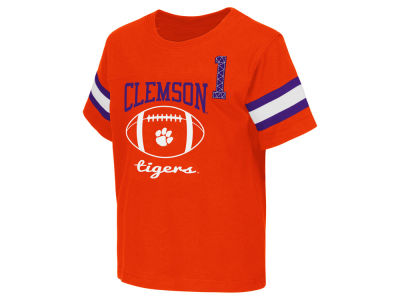 Clemson Tigers NCAA Toddler Pigskin Football T-Shirt