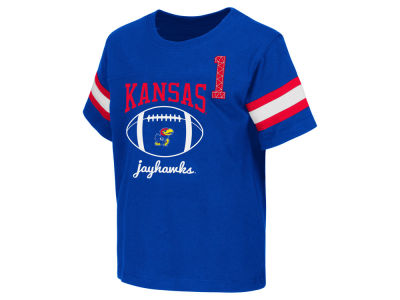 Kansas Jayhawks NCAA Toddler Pigskin Football T-Shirt